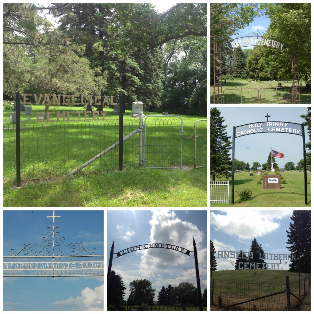 Cemeteries visited in North Dakota